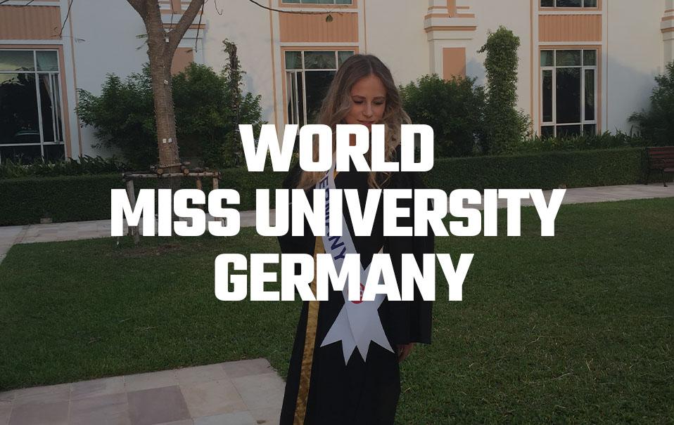 WORLD MISS UNIVERSITY GERMANY
